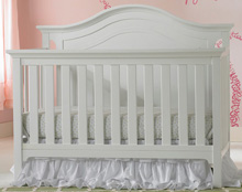 Ti Amo Catania Convertible Crib Snow White