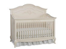 Dolce Babi Angelina Full Panel Convertible Crib, French Vanilla