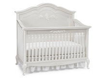 Dolce Babi Angelina Full Panel Convertible Crib, Pearl