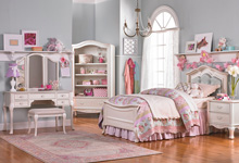 Dolce Babi Angelina Bookcase, Pearl