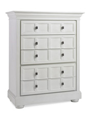Dolce Babi Serena 5 Drawer Chest, Sea Shell White
