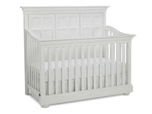 Dolce Babi Serena Full Panel Convertible Crib, Sea Shell White