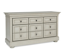 Dolce Babi Serena 9 Drawer Dresser, Saddle Grey