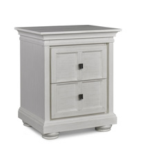 Dolce Babi Serena Nightstand, Sea Shell White