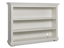 Dolce Babi Serena Hutch/Bookcase, Sea Shell White