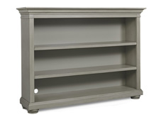 Dolce Babi Serena Hutch/Bookcase, Saddle Grey