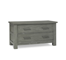 Docle Babi Lucca 2 Drawer Chest, Weathered Grey