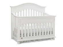Dolce Babi Naples Convertible Crib in Snow White