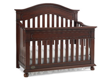 Dolce Babi Naples Convertible Crib in Cherry