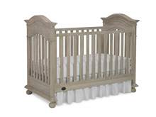 Dolce Babi Naples Traditional Crib, Driftwood