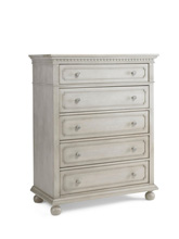 Dolce Babi Naples 5-Drawer Dresser Grey Satin