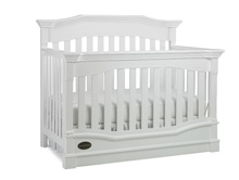 Dolce Babi Roma Convertible Crib Snow White