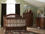 Bonavita Palisades Crib, Combo, 5 Drawer Dresser in Cherry