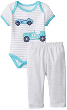Rene Rofe Classic Car 2 Piece Pant Set with Bodysuit