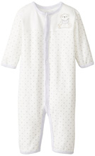 Rene RofeTeddy Bear Long Sleeve Snap Front Coverall