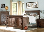 Bonavita Peyton Full Size Bed Rails in Chocolate