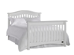 Bonavita Hudson Full Size Bed Rails in Classic White