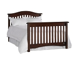 Bonavita Hudson Full Size Bed Rails in Chocolate