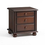 Bonavita Hudson Nightstand in Chocolate