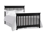 Bonavita Peyton Full Size Bed Rails in Espresso