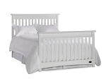 Bonavita Peyton Full Size Bed Rails in Clasic White