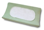 Boppy Changing Pad Set in Sage, Minky Dots 2 Pack