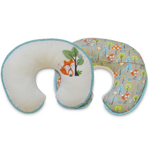 Boppy Luxe Pillow, Fox and Owl