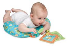 Boppy Tummy Time Pillow Honeybee