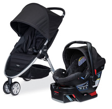 Britax B-Agile 3/B-Safe 35 Travel System Black