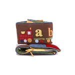 A to Z Boy Crib Bumper