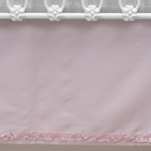 Lambs & Ivy Bunny Mix & Match Collection Pink Dust Ruffle