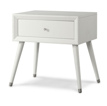 Child Craft Legacy Lincoln Park Nightstand in Matte White