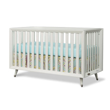 Child Craft Legacy Lincoln Park Euro 4-in-1 Convertible Crib in Matte White