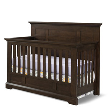 Child Craft Legacy Jordyn 4 in 1 Flat Top Convertible Crib in Slate
