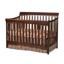 Child Craft Coventry Full Size Convertible Crib in Cherry