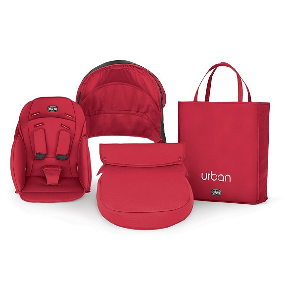 Chicco Urban Stroller Color Pack, Red - Ideal Baby