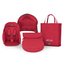 Chicco Urban Stroller Color Pack, Red