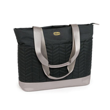 Chicco Chevron Tote Bag, Black