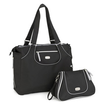Chicco Layla Tote and Dash Bag, Black