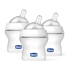 Chicco NaturalFit® Tri-Pak 5oz Bottles 0m+ Stage 1