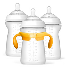 Chicco NaturalFit® Tri-Pack 11oz Bottles 6m+ Stage 3