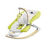 Chicco Bouncer I Feel Rocker in Lime