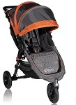 Baby Jogger City Mini GT 2012 Single Stroller In Shadow/Orange