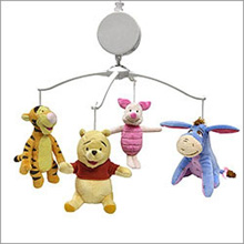 Crown Craft Disney Pooh Musical Mobile