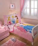 Crown Craft Disney Princess Dreams 4-Piece Toddler Set