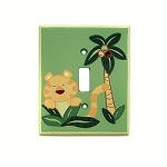 Crown Craft Jungle Babies Switch Plate