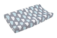Crown Craft Nojo Happy Little Clouds Changing Table Cover