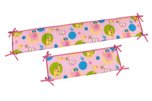 Little Bedding Forever Friends Crib Bumper