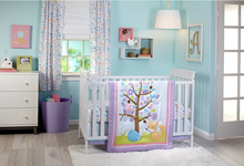Little Love by NoJo® Adorable Orchard 3 Piece Crib Bedding Set