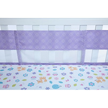 Crown Craft Nojo Adorable Orchard Crib LIner